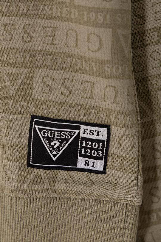 Guess - Bluza bawełniana dziecięca 116-176 cm Materiał zasadniczy: 100 % Bawełna, Ściągacz: 95 % Bawełna, 5 % Elastan