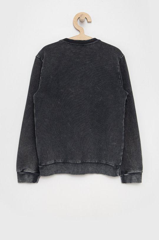 Guess - Bluza bawełniana dziecięca szary