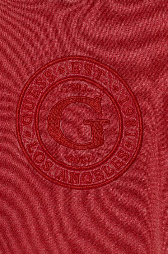 Guess - Dětská bavlněná mikina  Hlavní materiál: 100% Bavlna Stahovák: 95% Bavlna, 5% Elastan