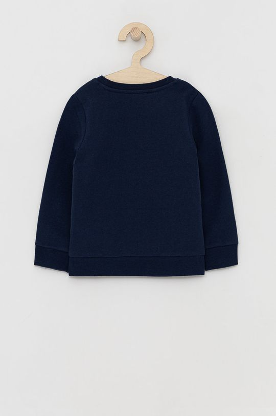 Guess - Bluza bawełniana dziecięca niebieski