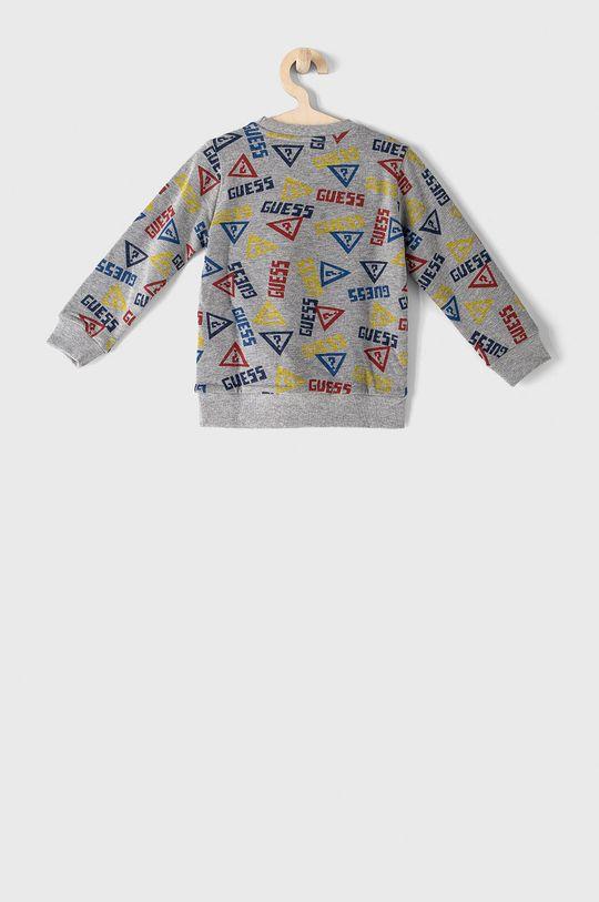 Guess - Bluza bawełniana dziecięca 92-122 cm szary