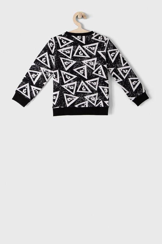 Guess - Bluza bawełniana dziecięca 92-122 cm czarny