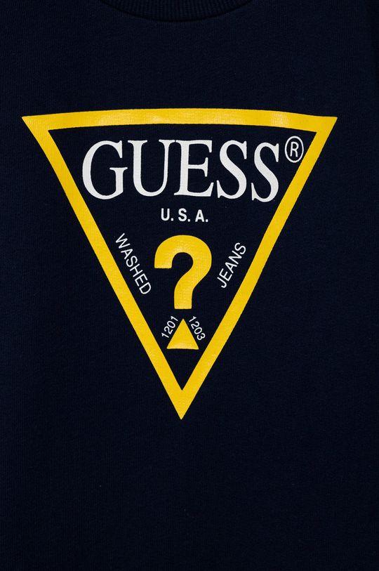 Guess - Bluza dziecięca granatowy