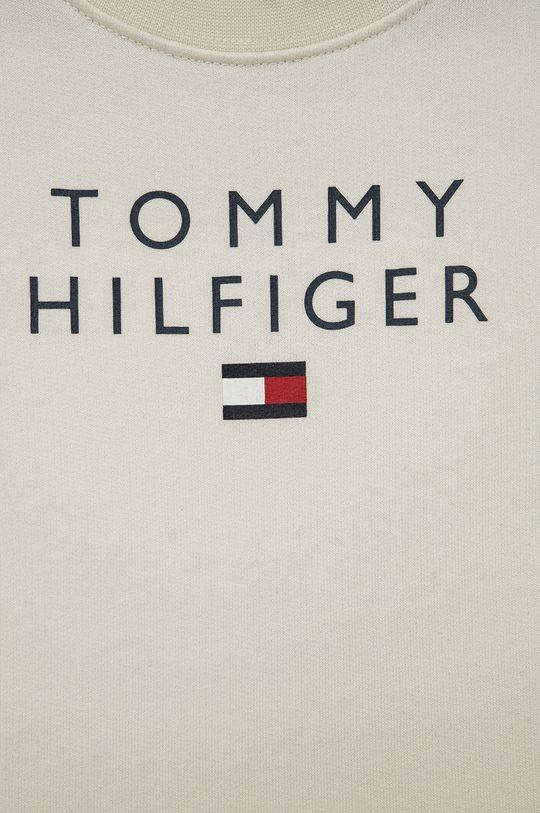 Tommy Hilfiger - Bluza bawełniana dziecięca 100 % Bawełna