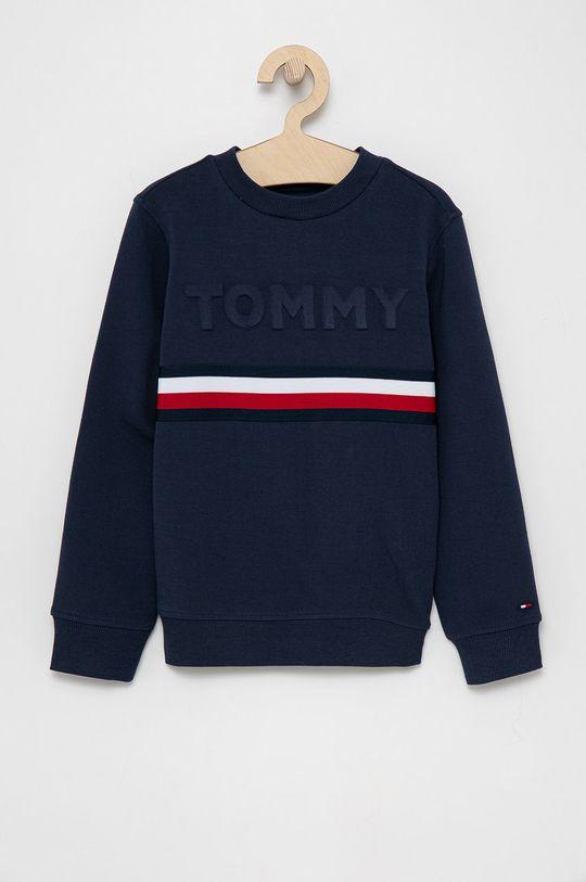 granatowy Tommy Hilfiger - Bluza dziecięca Chłopięcy