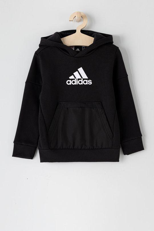 czarny adidas Performance - Bluza dziecięca 104-176 cm Chłopięcy
