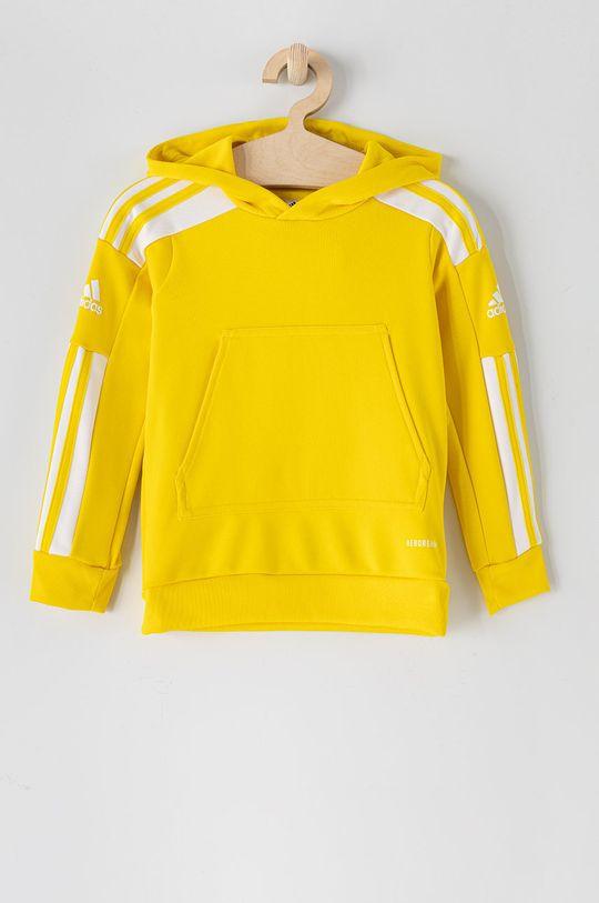 żółty adidas Performance - Bluza dziecięca 116-176 cm Chłopięcy