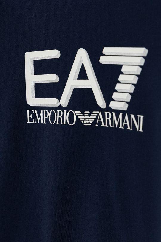 EA7 Emporio Armani - Bluza bawełniana dziecięca Materiał zasadniczy: 100 % Bawełna, Inne materiały: 95 % Bawełna, 5 % Elastan
