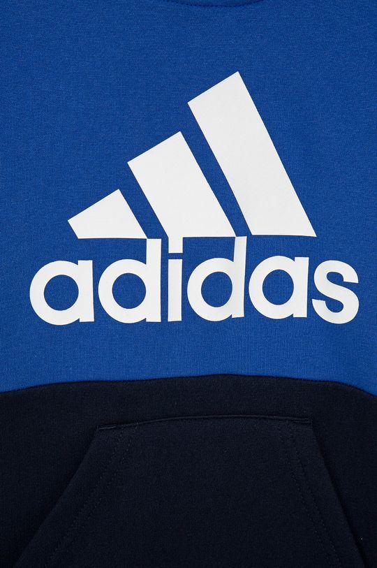 adidas - Bluza copii  Materialul de baza: 70% Bumbac, 30% Poliester reciclat Captuseala glugii: 100% Bumbac