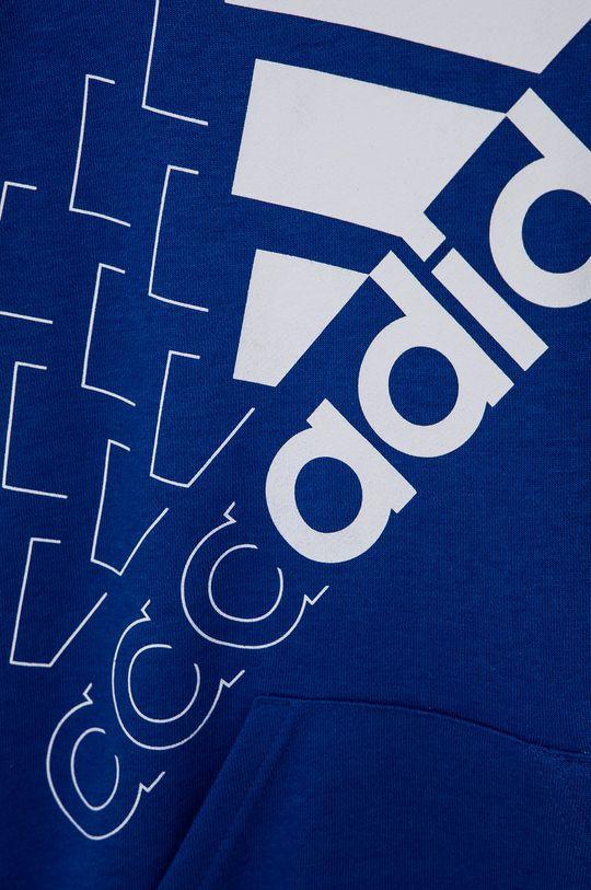 adidas - Bluza dziecięca Materiał zasadniczy: 53 % Bawełna, 11 % Rayon, 36 % Poliester z recyklingu, Ściągacz: 95 % Bawełna, 5 % Elastan