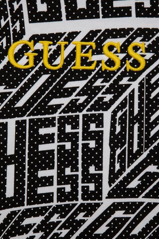 negru Guess - Hanorac de bumbac pentru copii