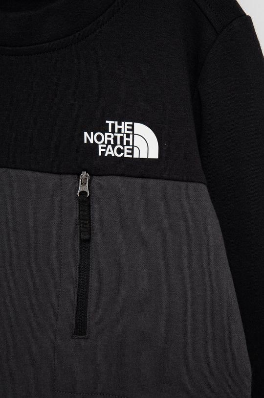 The North Face - Bluza copii  Materialul de baza: 81% Bumbac, 19% Poliester  Captuseala buzunarului: 100% Poliester