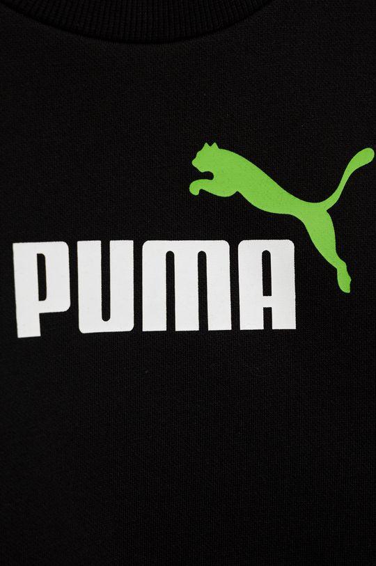 Puma - Bluza copii  Materialul de baza: 66% Bumbac, 34% Poliester  Banda elastica: 97% Bumbac, 3% Elastan