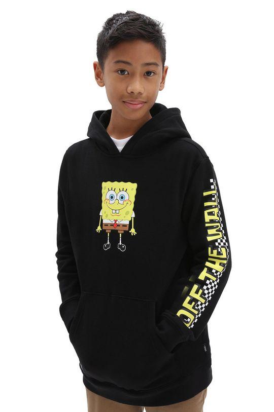 czarny Vans - Bluza dziecięca x Spongebob Chłopięcy