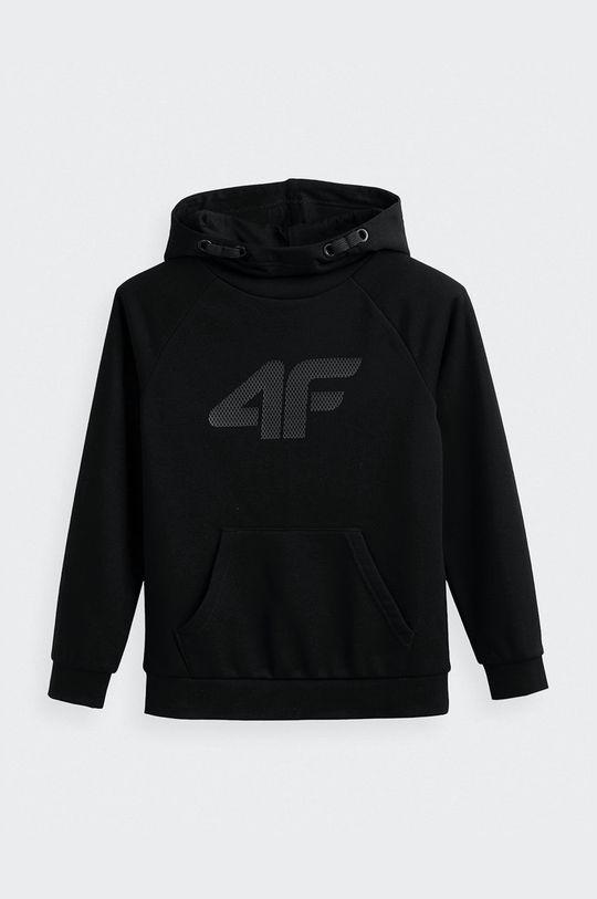 μαύρο 4F - Παιδική μπλούζα Για αγόρια