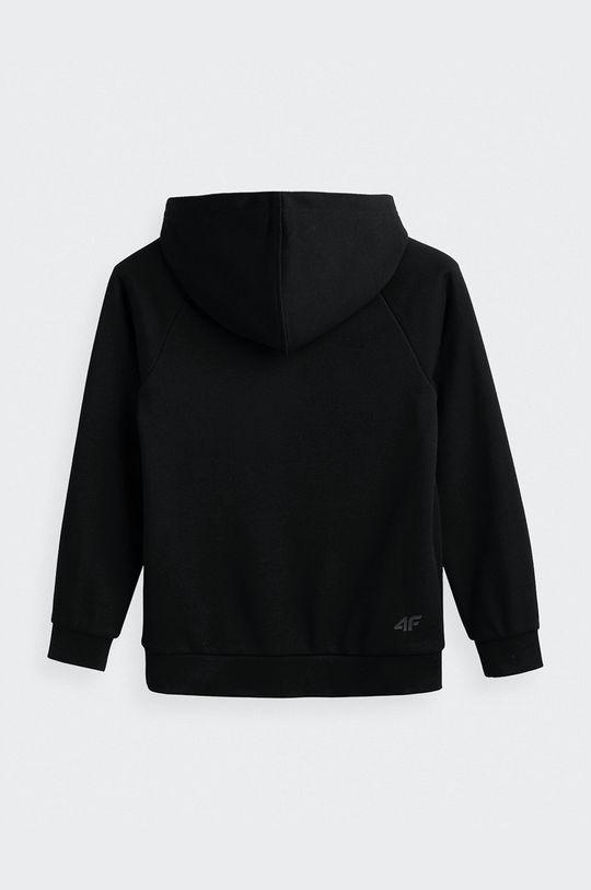 4F - Παιδική μπλούζα μαύρο