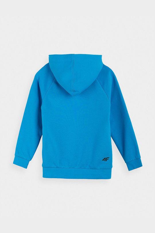4F - Bluza dziecięca niebieski