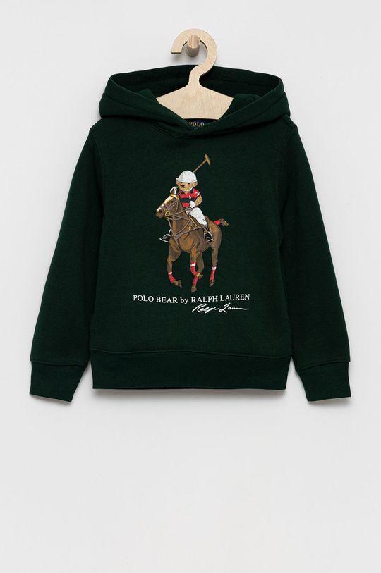 ciemny zielony Polo Ralph Lauren - Bluza dziecięca Chłopięcy