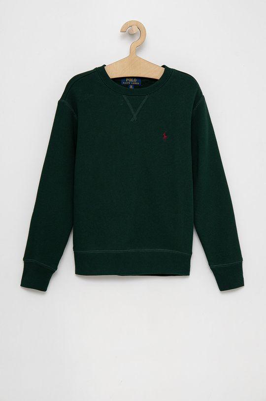 tmavě zelená Polo Ralph Lauren - Dětská mikina Chlapecký