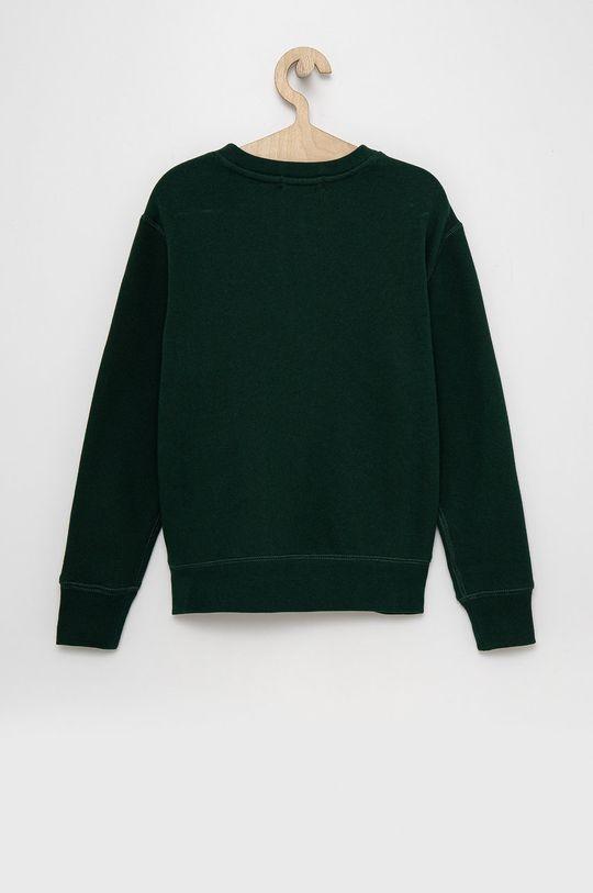 Polo Ralph Lauren - Dětská mikina tmavě zelená