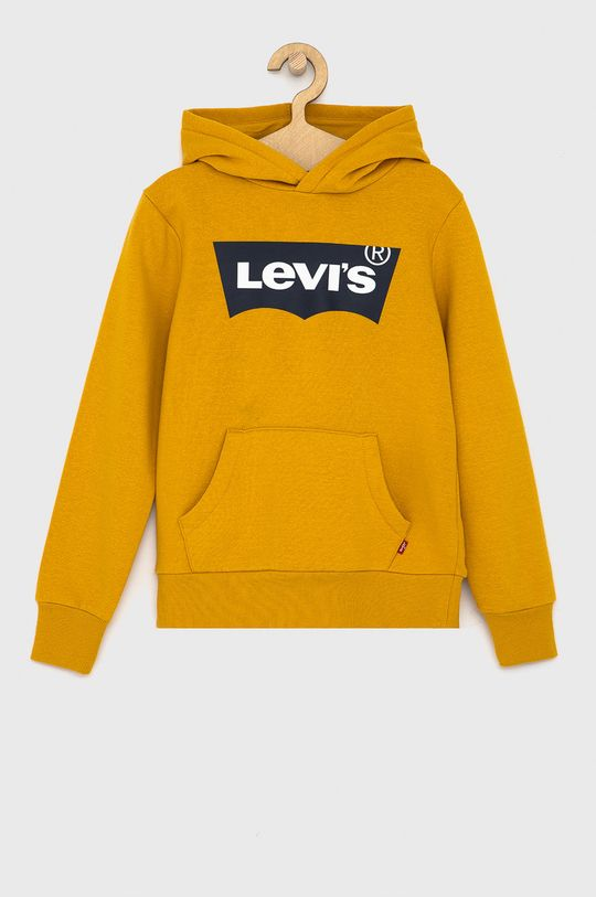 bursztynowy Levi's - Bluza dziecięca Chłopięcy