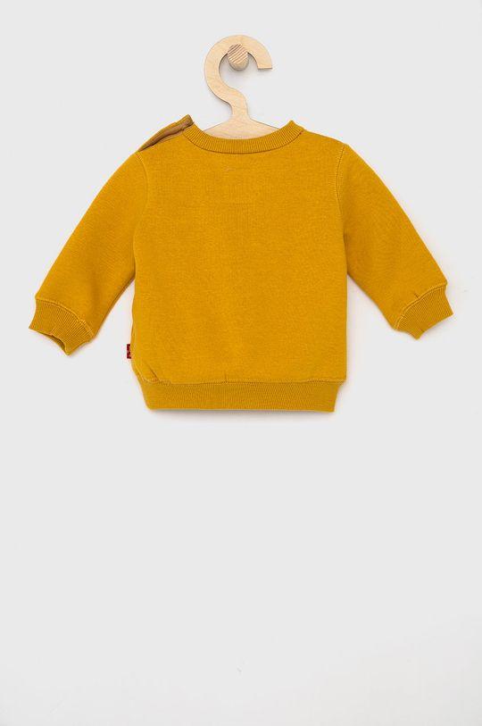Levi's - Bluza dziecięca bursztynowy
