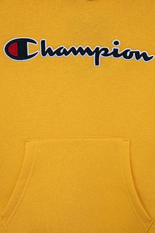 Champion - Bluza copii  Materialul de baza: 79% Bumbac, 21% Poliester  Banda elastica: 98% Bumbac, 2% Elastan