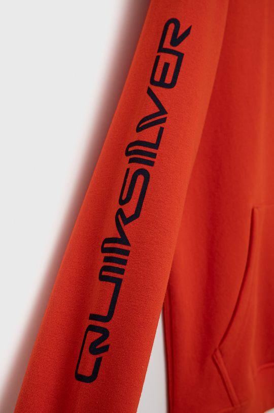 oranžová Quiksilver - Detská mikina