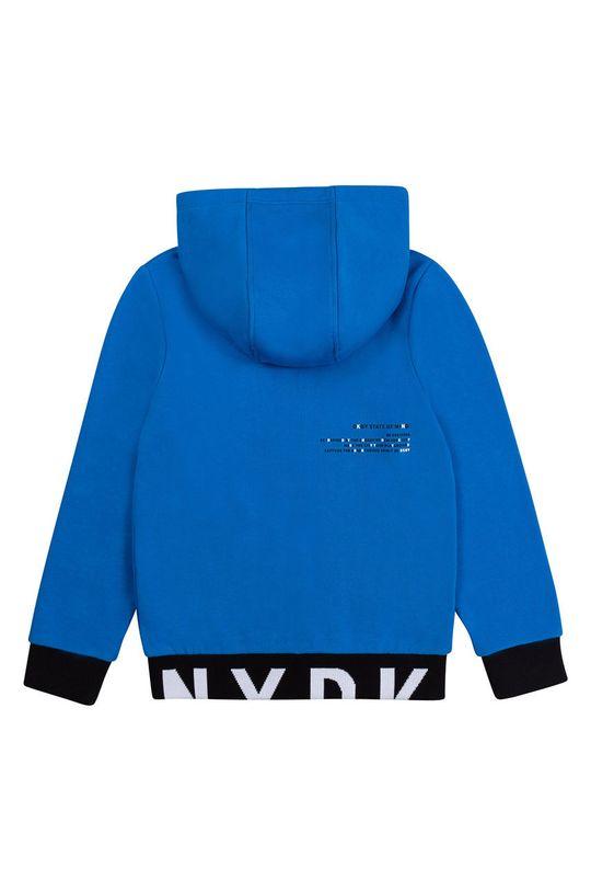 Dkny - Detská bavlnená mikina morská modrá