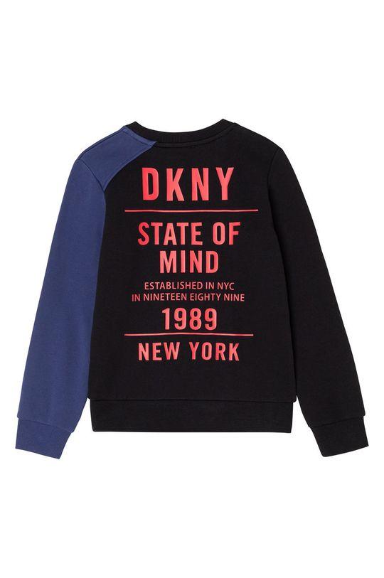 Dkny - Hanorac de bumbac pentru copii negru