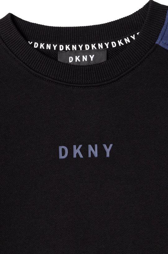 Dkny - Hanorac de bumbac pentru copii  Materialul de baza: 100% Bumbac Finisaj: 95% Bumbac, 5% Elastan