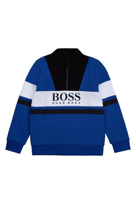 fioletowy Boss - Bluza dziecięca Chłopięcy