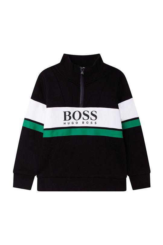 czarny Boss - Bluza dziecięca Chłopięcy