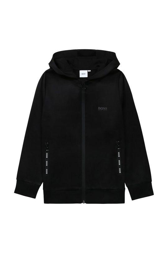 negru Boss - Bluza copii De băieți