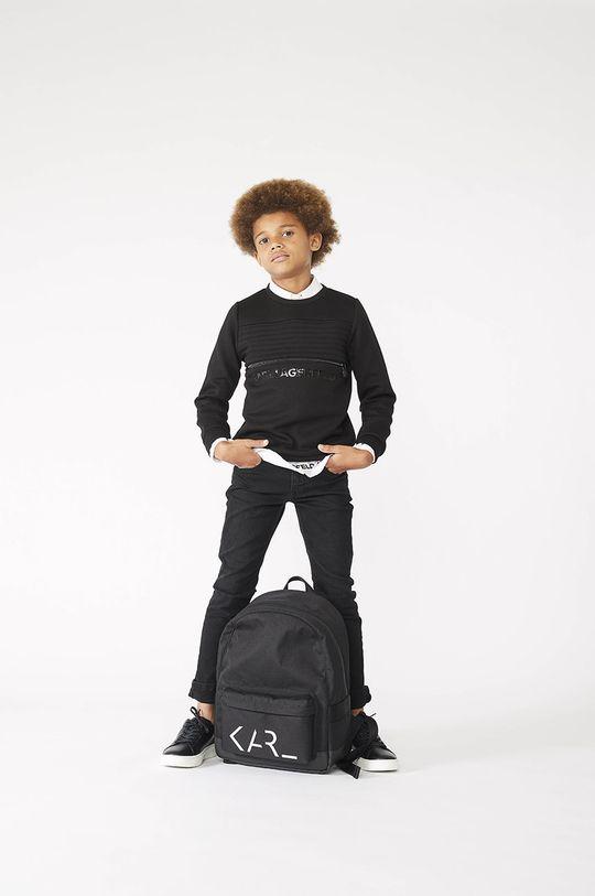 czarny Karl Lagerfeld - Bluza dziecięca Chłopięcy