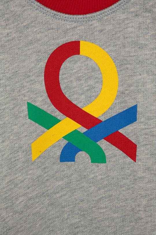 United Colors of Benetton - Bluza bawełniana dziecięca multicolor