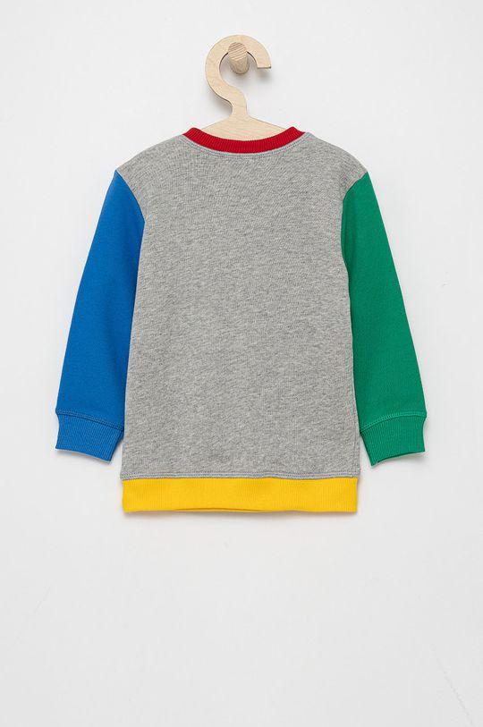 United Colors of Benetton - Bluza bawełniana dziecięca Materiał zasadniczy: 100 % Bawełna, Inne materiały: 95 % Bawełna, 5 % Elastan