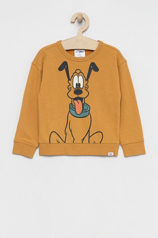 brązowy GAP - Bluza dziecięca x Disney Chłopięcy