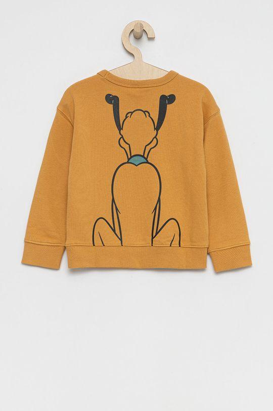 GAP - Bluza dziecięca x Disney brązowy