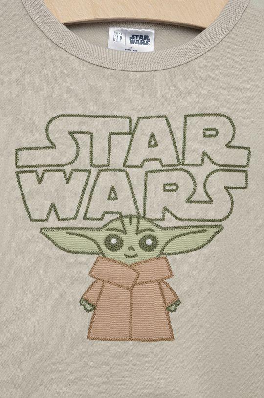 GAP - Bluza dziecięca x Star Wars 77 % Bawełna, 14 % Poliester, 9 % Poliester z recyklingu