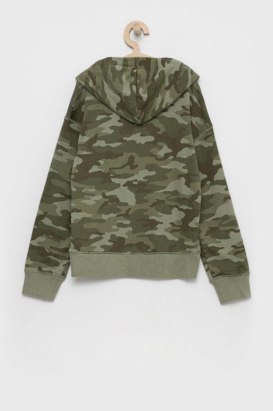 GAP - Bluza dziecięca brudny zielony