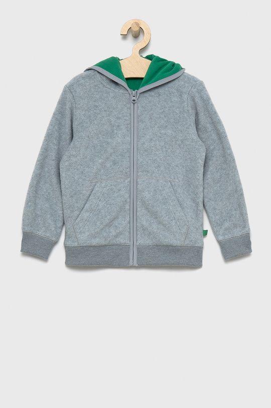 jasny szary United Colors of Benetton - Bluza dziecięca Chłopięcy