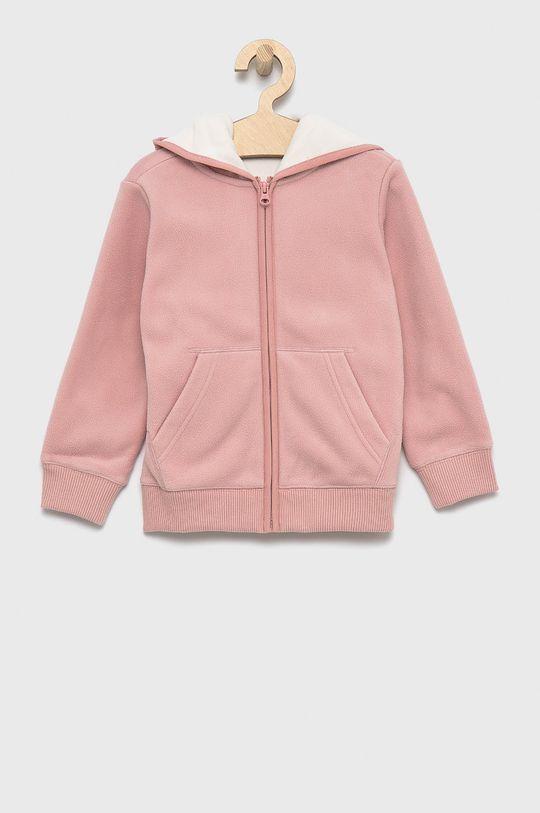 różowy United Colors of Benetton - Bluza dziecięca Chłopięcy