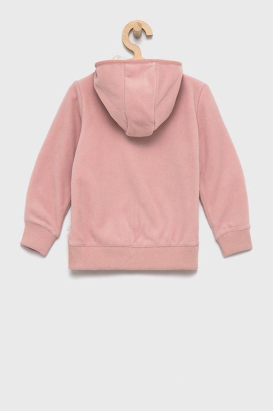 United Colors of Benetton - Bluza dziecięca różowy