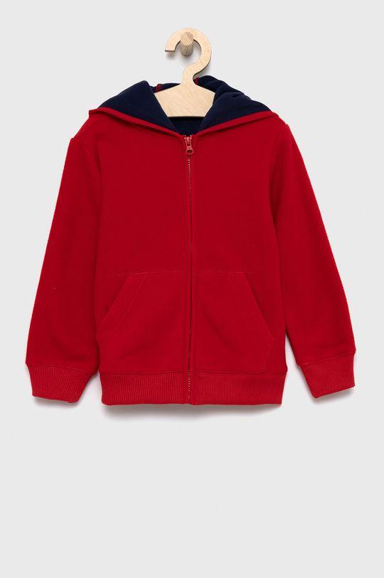 czerwony United Colors of Benetton - Bluza dziecięca Chłopięcy