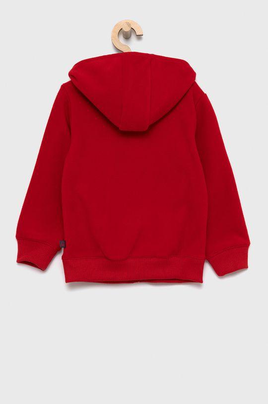 United Colors of Benetton - Bluza dziecięca czerwony