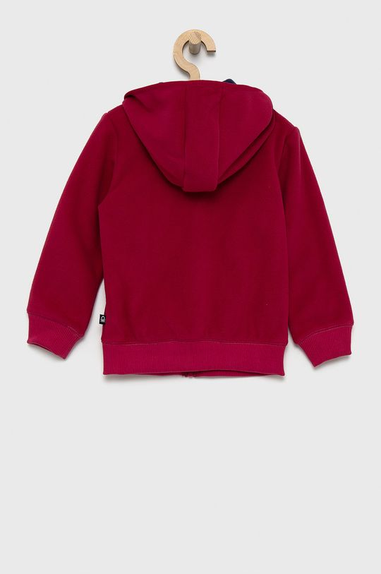 United Colors of Benetton - Bluza dziecięca purpurowy