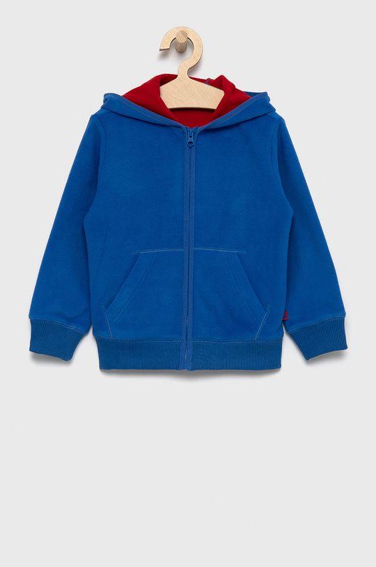 niebieski United Colors of Benetton - Bluza dziecięca Chłopięcy
