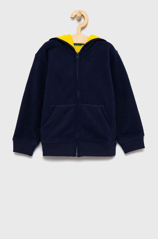 granatowy United Colors of Benetton - Bluza dziecięca Chłopięcy