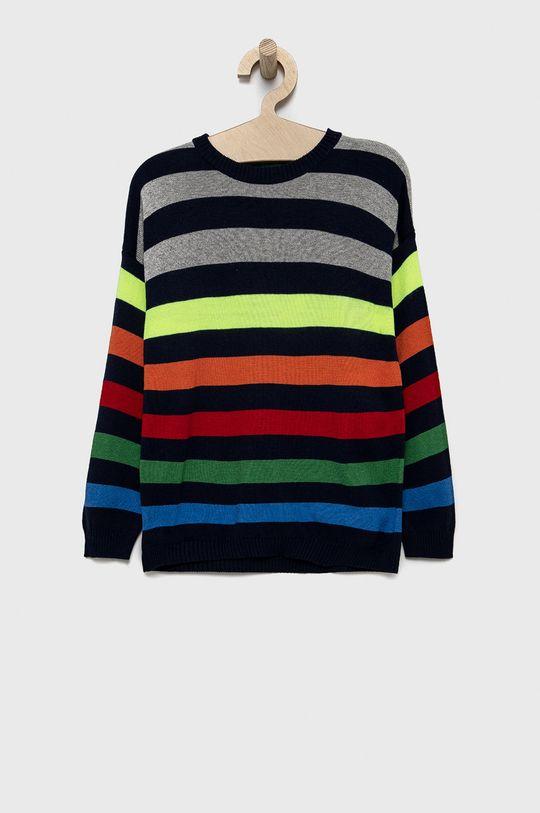 sivá United Colors of Benetton - Detský sveter Chlapčenský
